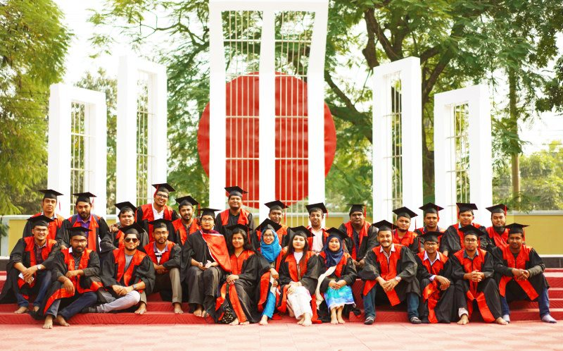 CSE Graduates at RUET Shaheed Minar: A Place to remember the martyred